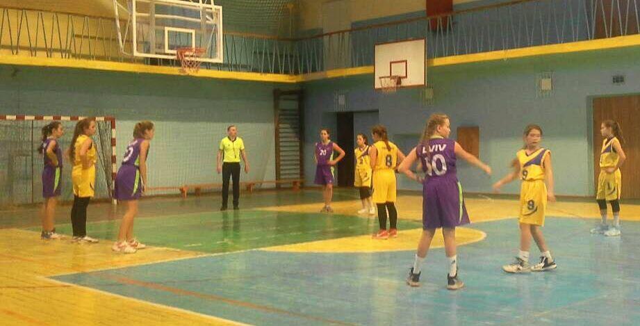ВЮБЛ (дівчата-2005): перший тур другого етапу у дивізіоні «Захід-1, Захід-2»