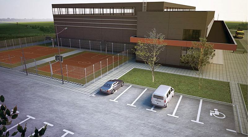 У Вінниці показали проект майбутнього Палацу спорту