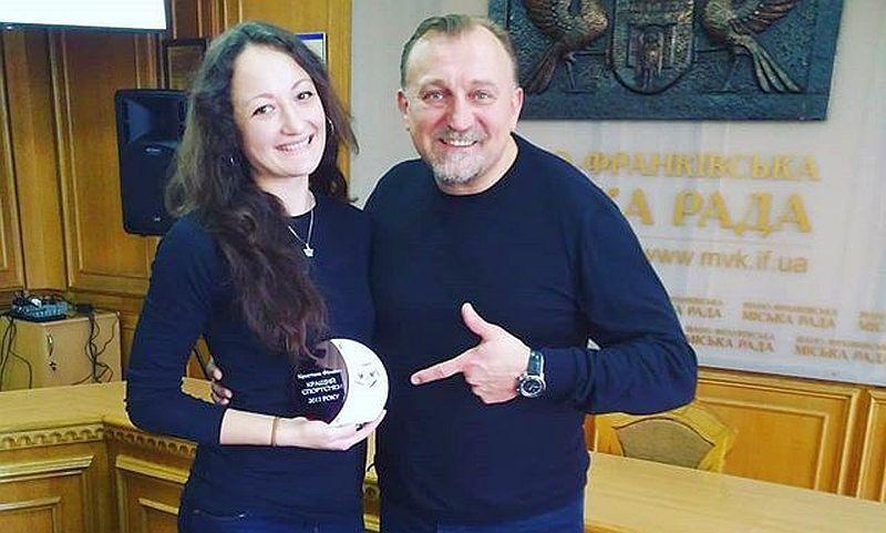 Івано-Франківськ вшанував гравців збірної України серед найкращих спортсменів року