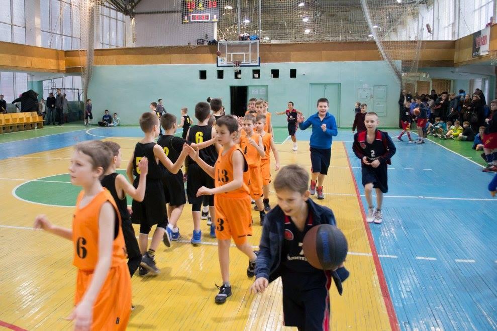 Різдвяний турнір з мінібаскетболу завершився у Харкові