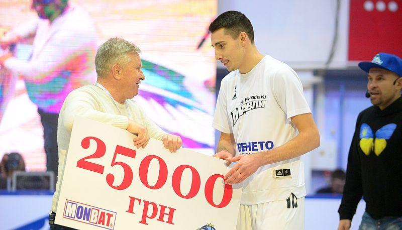 Захисник Черкаських Мавп виграв конкурс данків на Матчі зірок