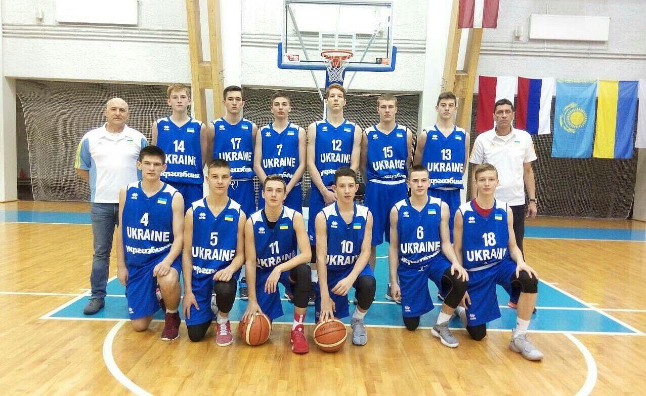 Чоловіча збірна України U-16: п'ять матчів у Латвії
