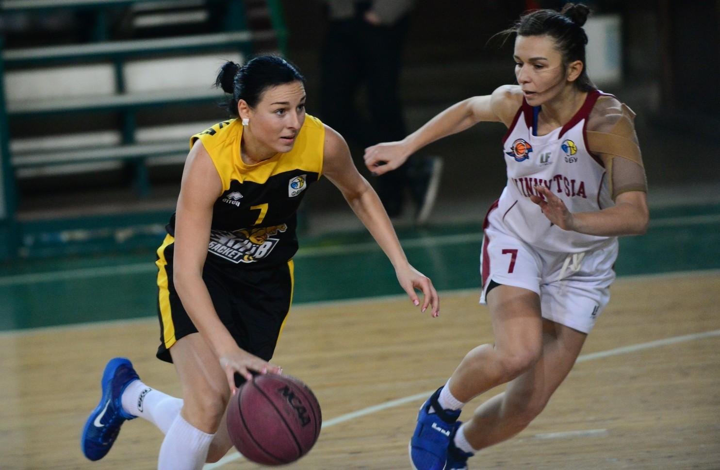 Жіноча Суперліга: сімнадцята перемога Київ-Баскета і бій у Рівному