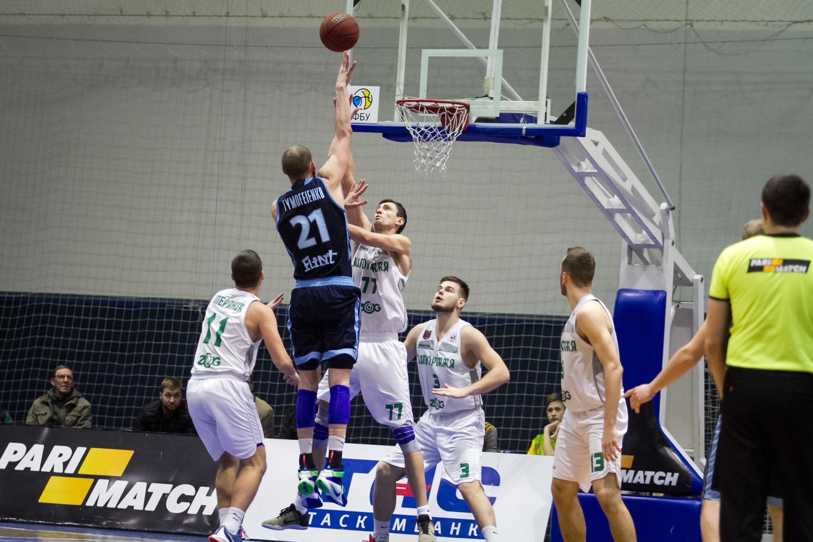 Дніпро вперше в сезоні переміг Запоріжжя на виїзді: фотогалерея