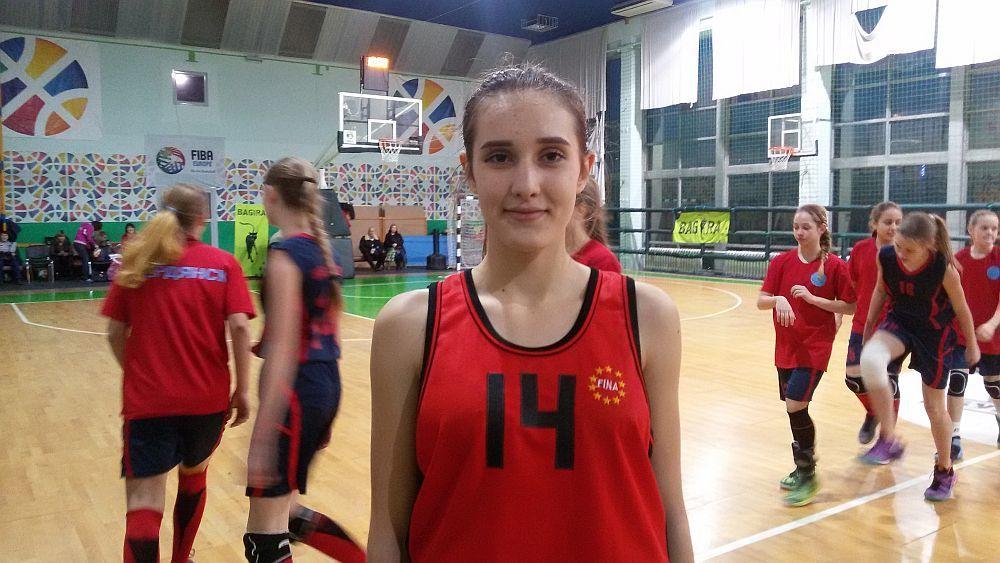 Баскетбольні дівчата з Рубіжного: телерепортаж