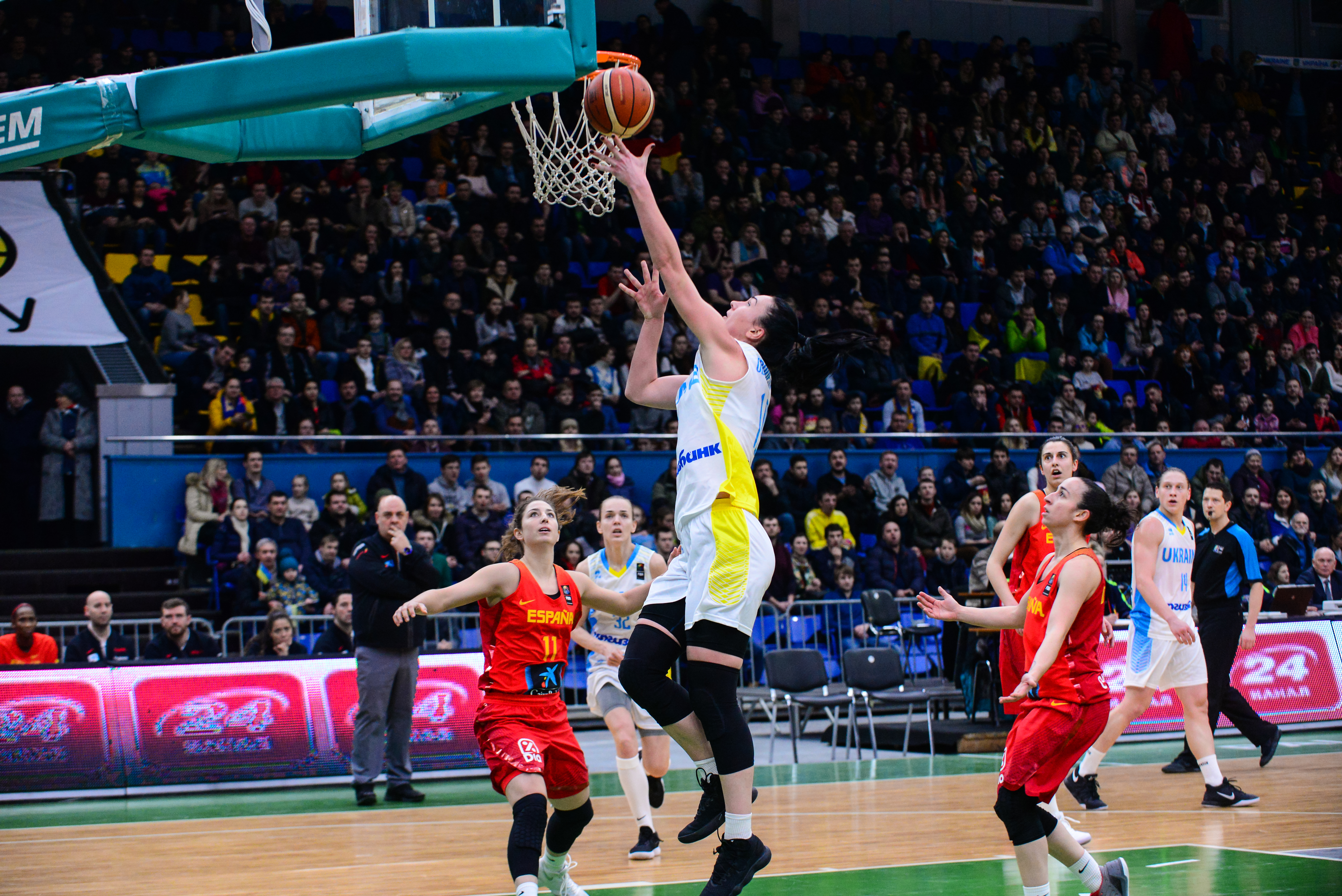 Жіноча збірна України поступилась Іспанії у відборі на ЄвроБаскет-2019