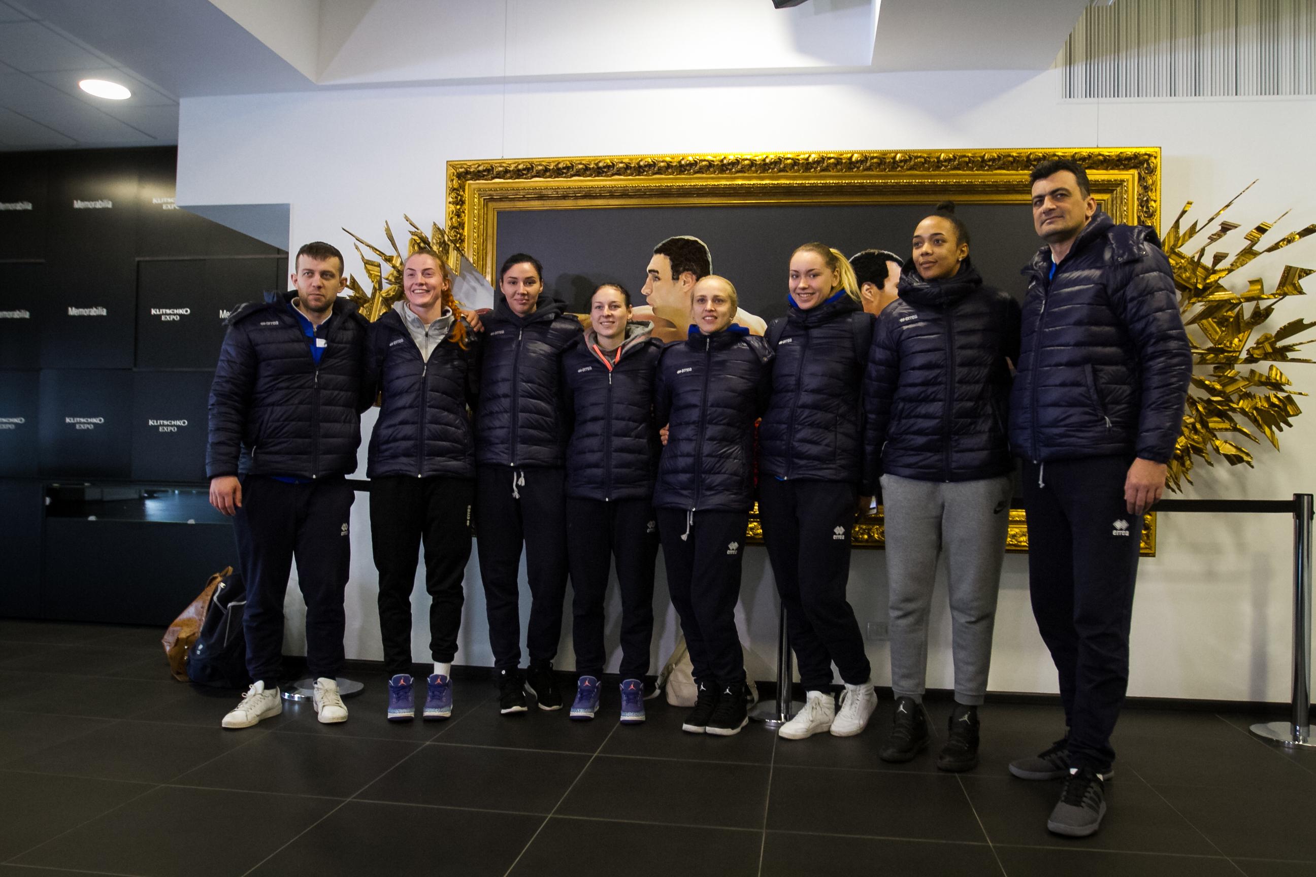 Жіноча збірна України у Klitschko Expo: джерело мотивації і нові емоції