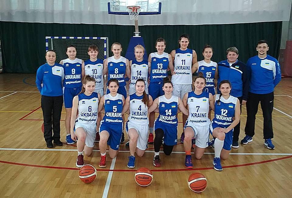 Молодіжна жіноча збірна України стартує на турнірі у Вільнюсі