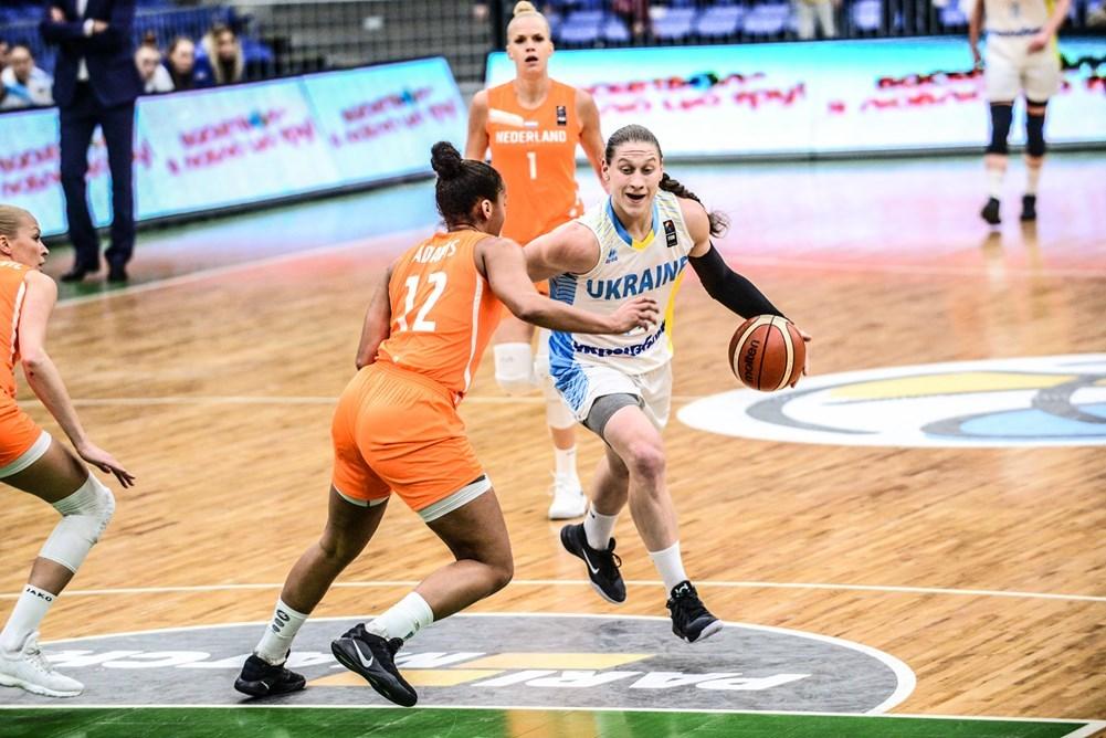 Україна не залишила шансів Нідерландам у матчі відбору на ЄвроБаскет-2019