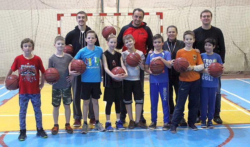 У Львові запроваджено баскетбольні кемпи для талановитих дітей