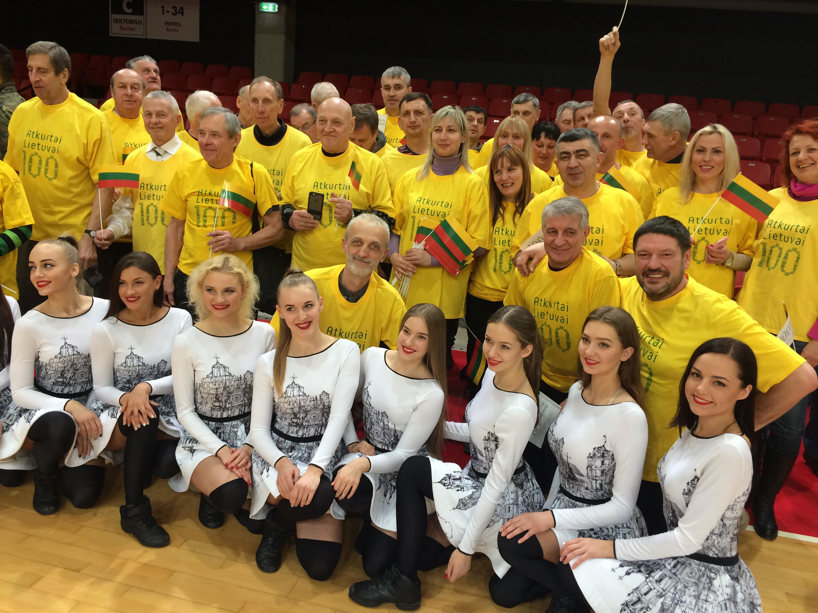 Українці на турнірі з нагоди 100-річчя відновлення державності Литви