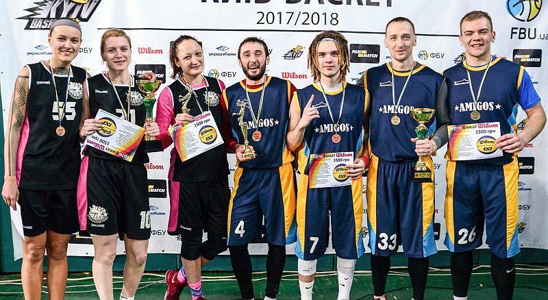 Визначилися переможці Winter Basketball Battle 3х3 2018 року