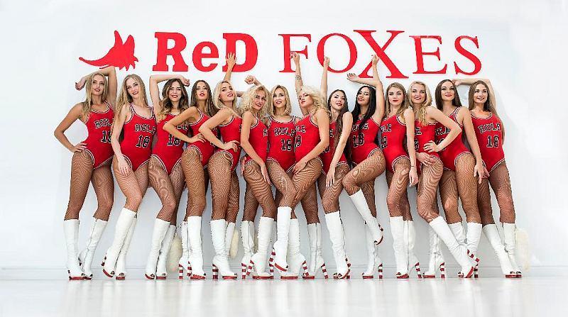 Красуні з Redfoxes вийдуть на матч Україна – Швеція в новій уніформі