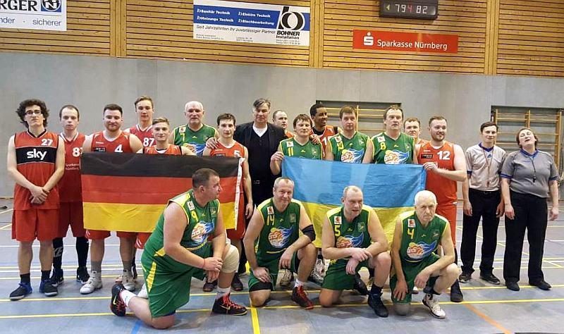 Українські ветерани зіграли в Німеччині