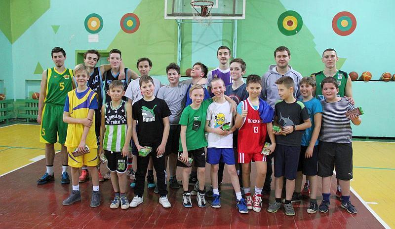 Львівські баскетболісти провели майстер-клас для дітей