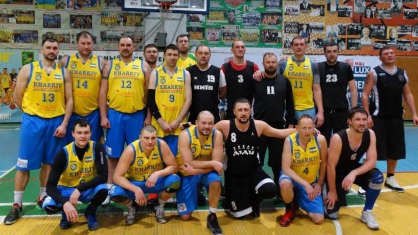 У Харкові відбувся турнір ветеранів