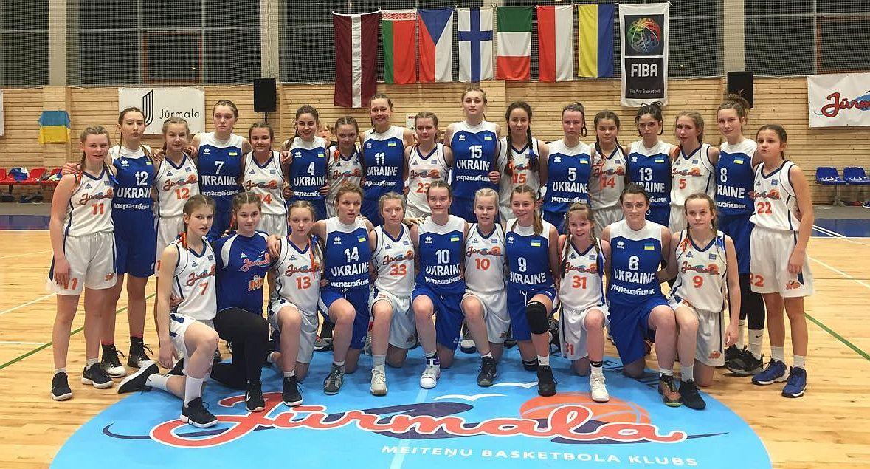 Жіноча збірна України U-15: п'ять перемог у Юрмалі