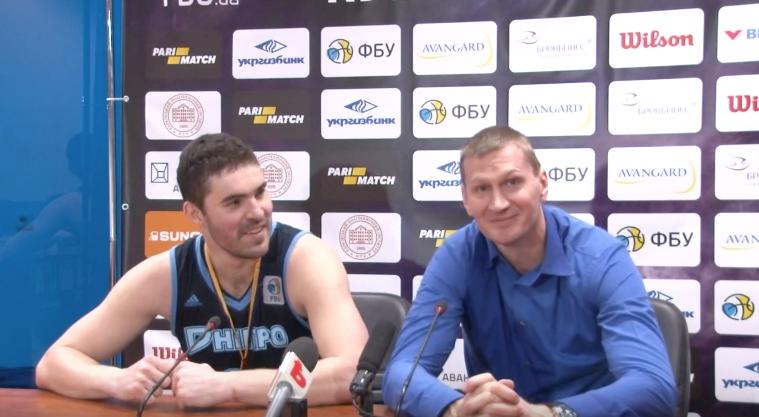 Хімік - Дніпро: відео прес-конференції після фіналу Кубку України