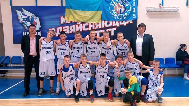 Юнаки Дніпра стали призерами міжнародного турніру