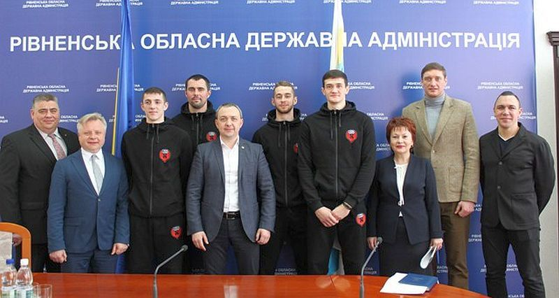 На Рівненщині оголошено рік баскетболу