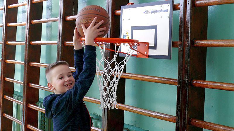 ФБУ розробила баскетбольні конструкції для наймолодших гравців