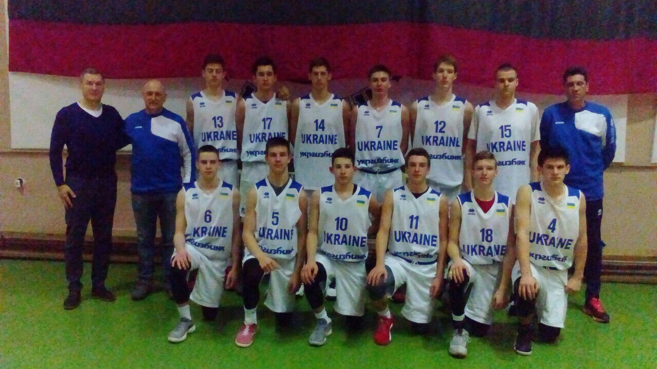 Чоловіча збірна України U-16 зіграє у Cуперфіналі EYBL