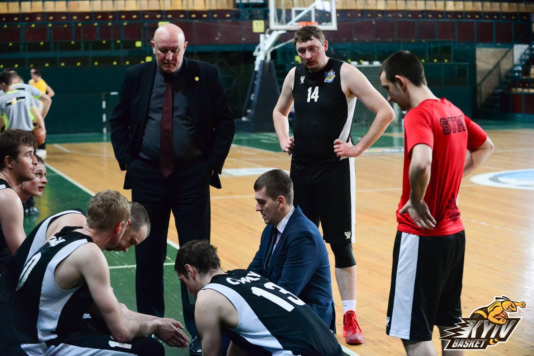 Відродження баскетболу на Сумщині набуло сталого характеру