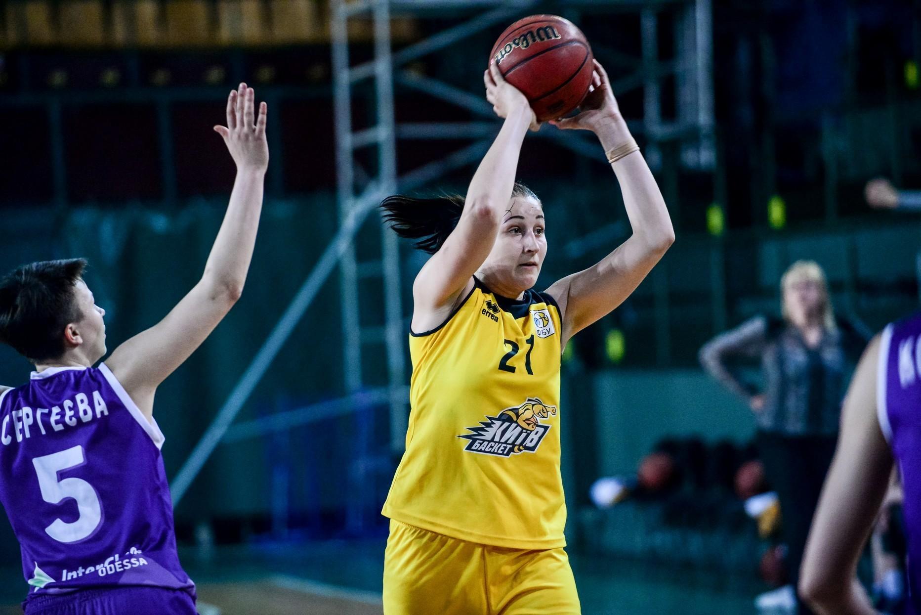 Жіноча Суперліга: Київ-Баскет збільшив перевагу у фінальній серії