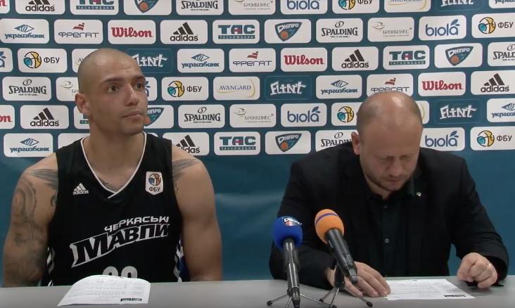 Дніпро - Черкаські Мавпи: відео коментарів після другого матчу фіналу чемпіонату України