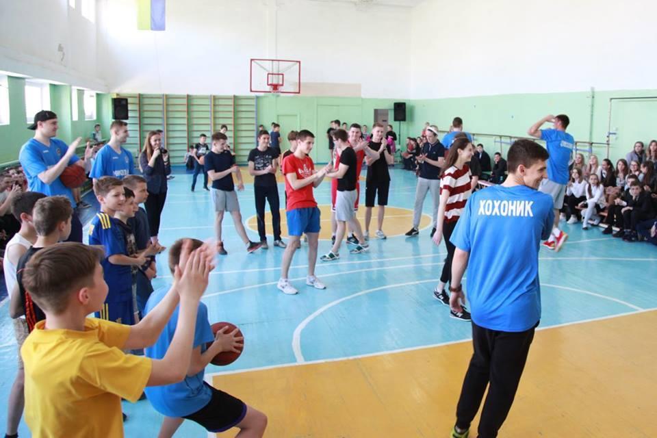 Баскетболісти – гімназистам: майстер-клас від МБК Миколаїв