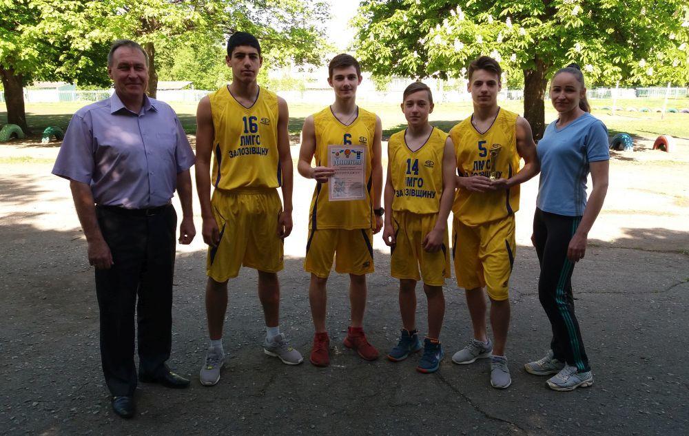 Шкільна баскетбольна ліга 3х3: хлопці з Лозової – курс на Київ