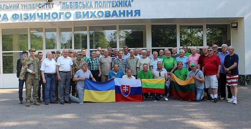 У Львові завершився міжнародний турнір ветеранів