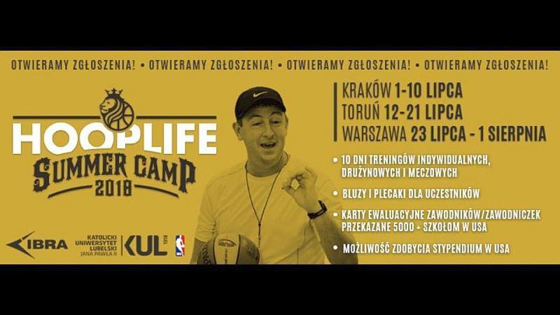 Польща запрошує до літнього баскетбольного табору