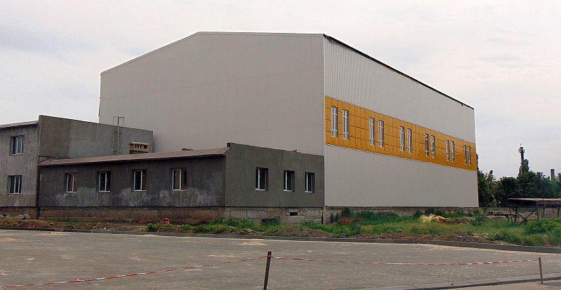 На Одещині будують новий Палац спорту