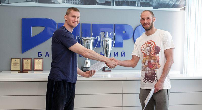 Дніпро продовжив угоду з найкращим форвардом чемпіонату України