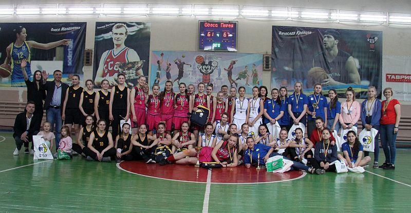 Фінішував сезон у ВЮБЛ серед дівчат 2002 р.н.: фотогалерея