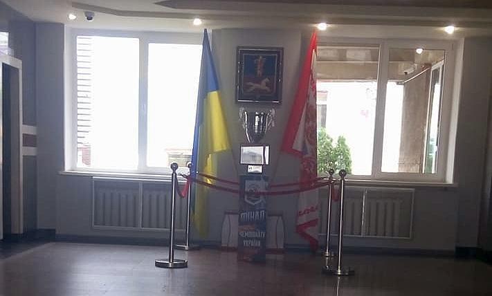 Чемпіонський Кубок експонують у Черкаському міськвиконкомі