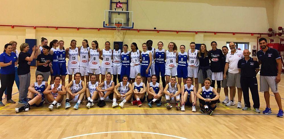 Жіноча збірна України U-15: спаринги на Апенінах