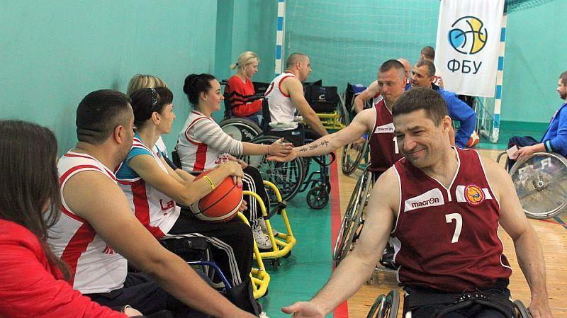 У Львові завершився міжнародний турнір з баскетболу на візках