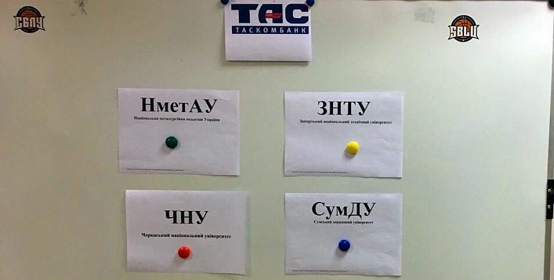 СБЛУ Таскомбанк: жеребкування 1/2 фіналу