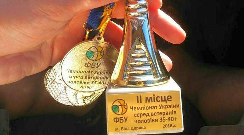 Гравці БК Рівне вибороли срібні медалі чемпіонату України