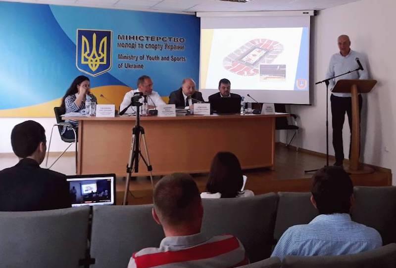 Розглянуто проекти будівництва Палаців спорту у 11 містах України