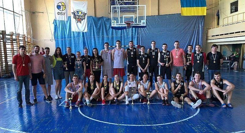 У Харкові завершено Студентський Кубок України з баскетболу 3х3