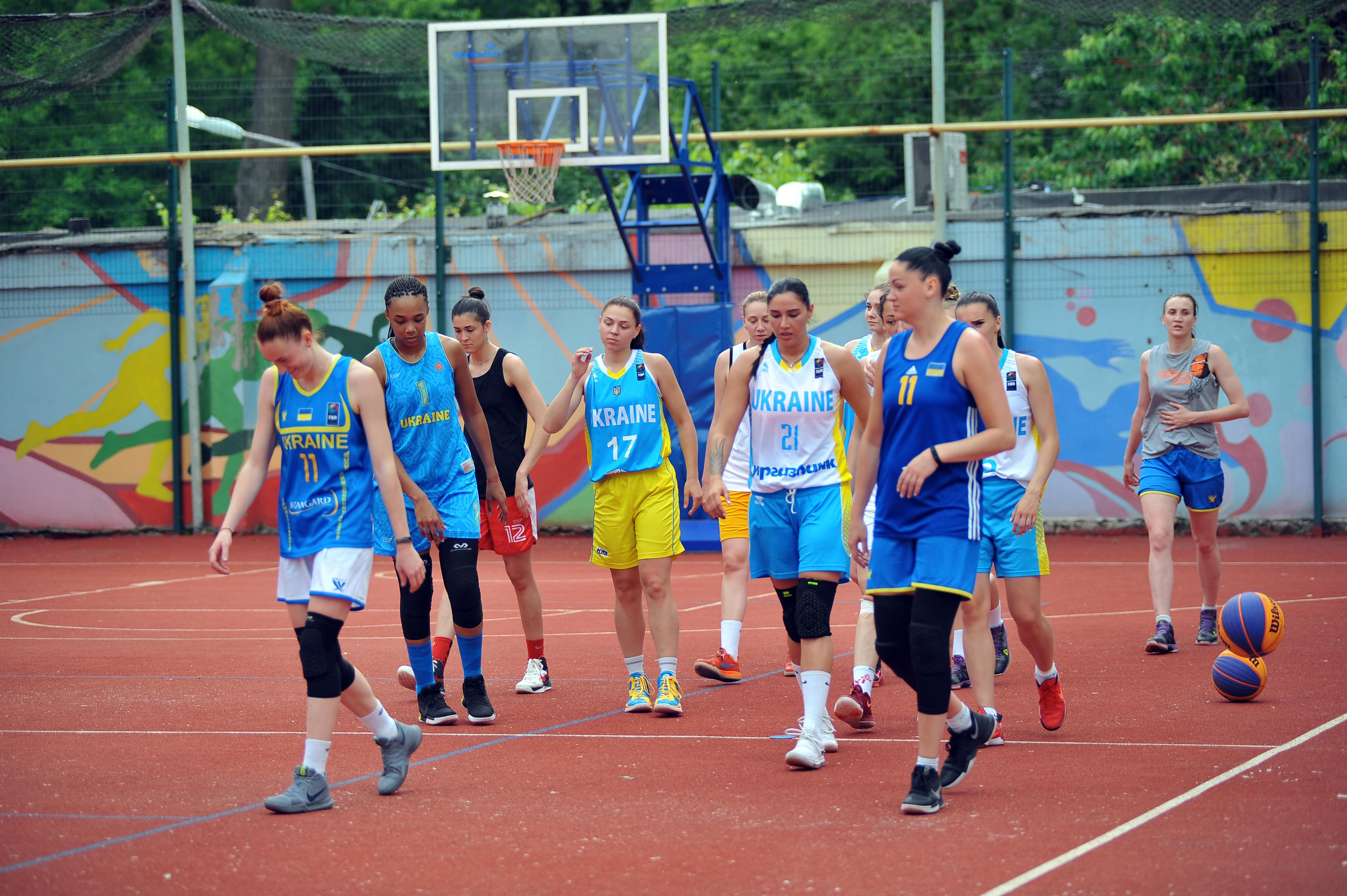 Жіноча збірна України продовжує підготовку до сезону 3х3
