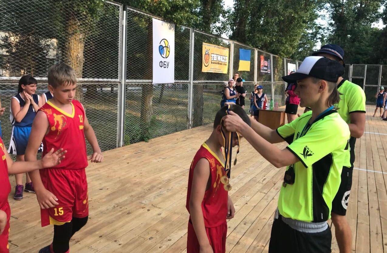Фестиваль міні-баскетболу: перші переможці