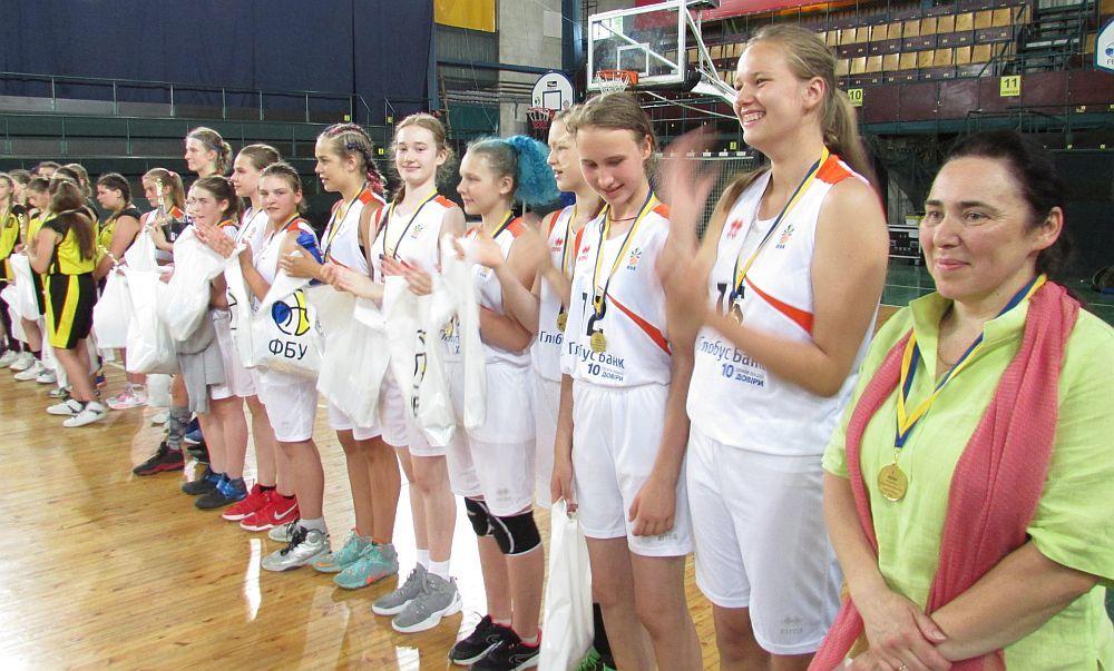 ВЮБЛ (дівчата-2005): збірна Києва – чемпіон України!