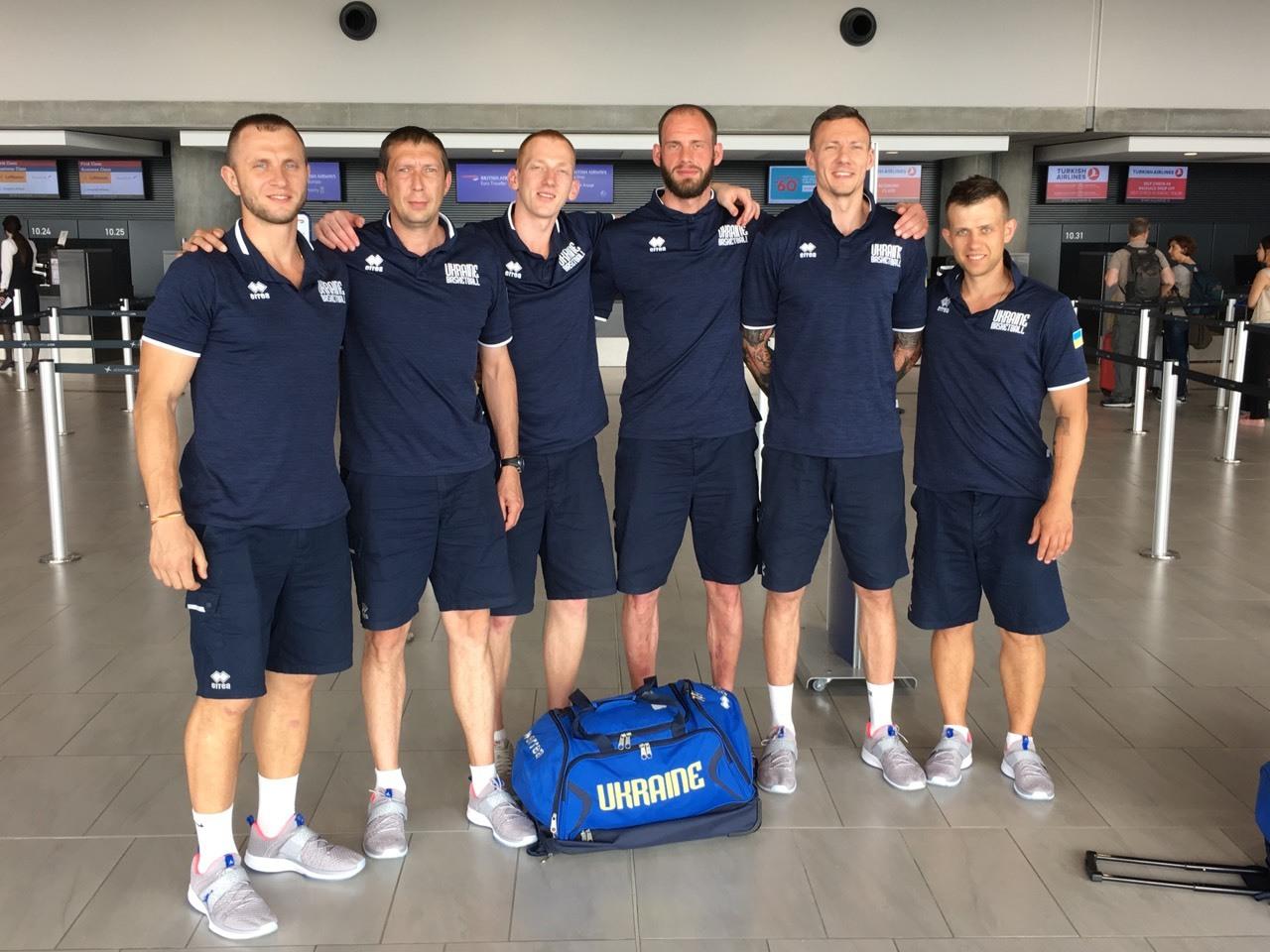 Збірна України вирушила на чемпіонат світу