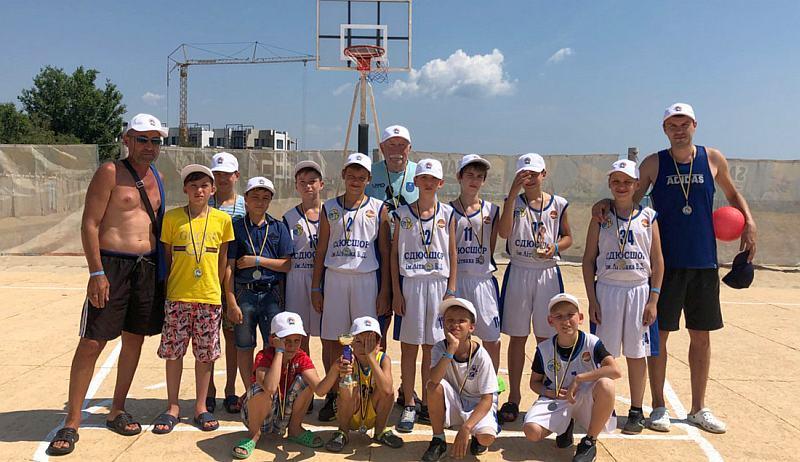 На Одещині стартував дитячий баскетбольний турнір