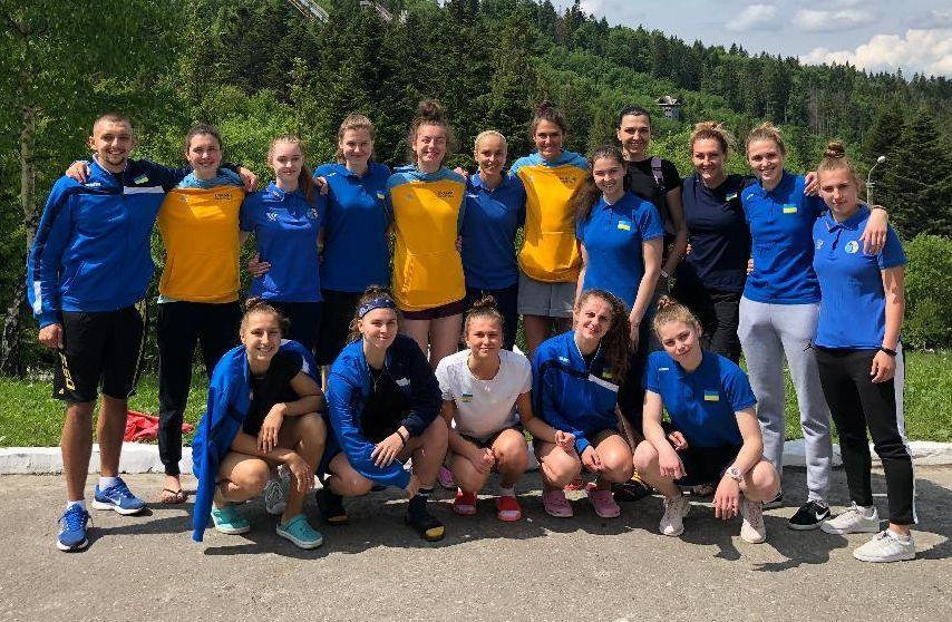 Жіноча молодіжна збірна України зіграла перший спаринг у Туреччині