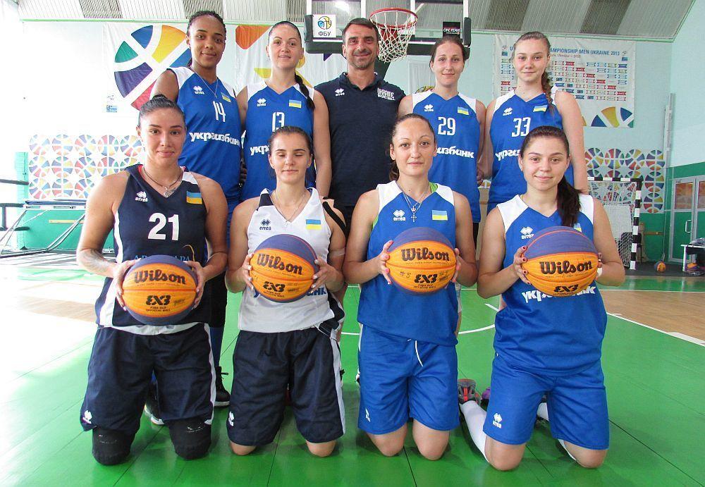 Національна і молодіжна жіночі збірні 3х3 відіграли перші матчі в Білорусі